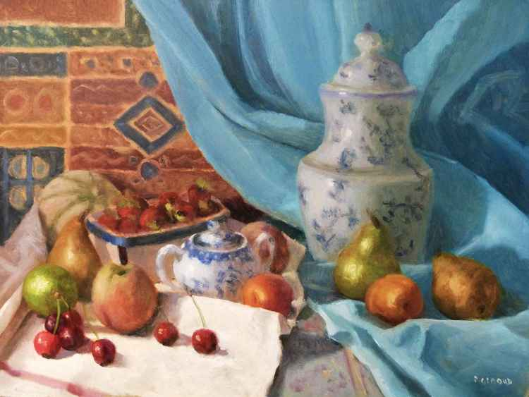 Fruits and Porcelain -
