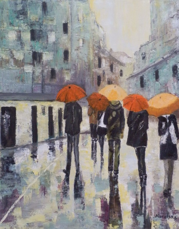 Under umbrellas - Image 0