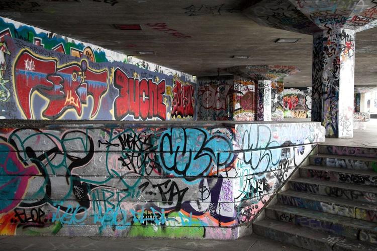 South Bank Graffiti 02, London - Image 0