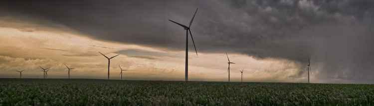 Arrival of a Prairie Storm -