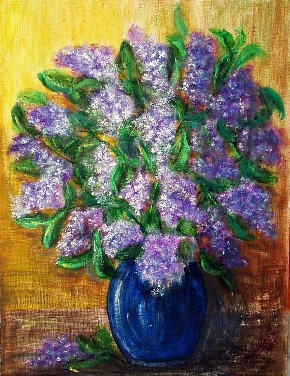 Lilac bouquet .. - Image 0