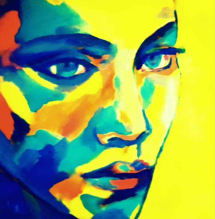 Pensive woman -