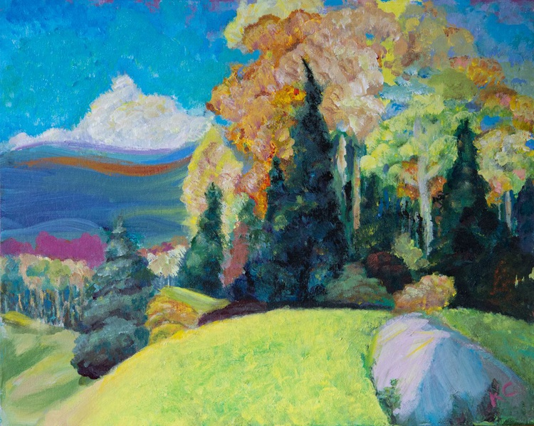 Landscape with trees - Image 0