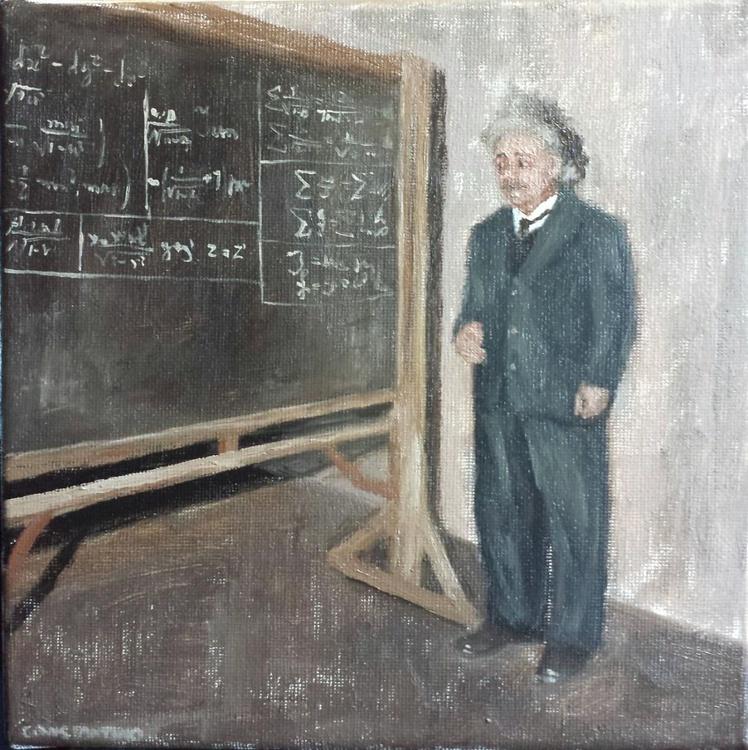 Retro Chronicles - Einstein explaining Relativity - Image 0
