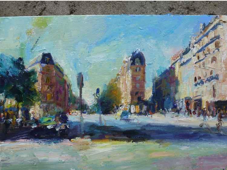 Paris grands boulevards -