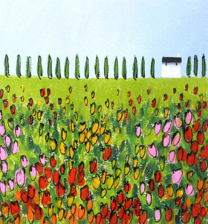 Field of Tulips - Image 0