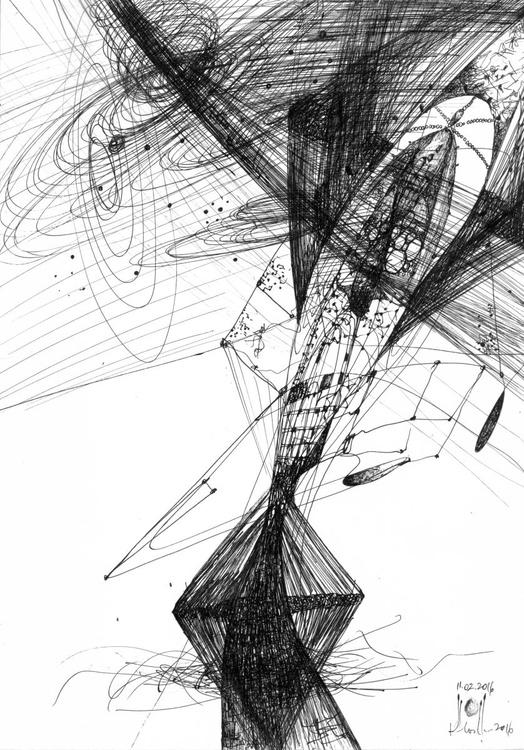 STILL LIFE LIKE GALAXY FORMING VIBRATIONS FLOWERS OF ETERNITY TIME SPACE ENERGY BY MASTER OVIDIU KLOSKA - Image 0