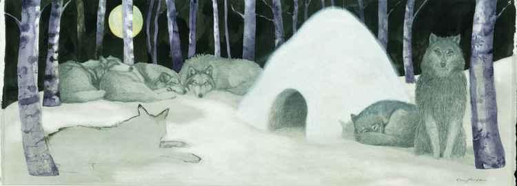 Wolf Igloo -