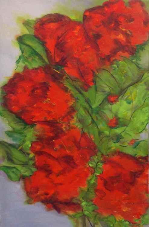 """Red Blooms"" -"