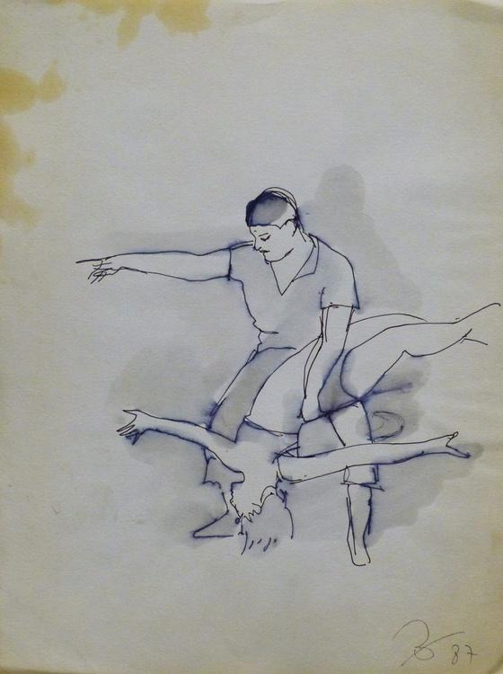 Rehearsal 1, 24x32 cm - Image 0