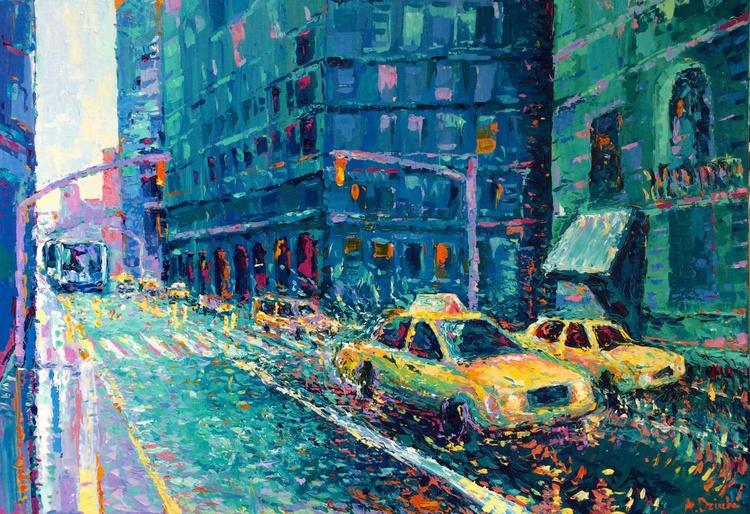 "NEW! ""Rainy Day in New York"" - Image 0"