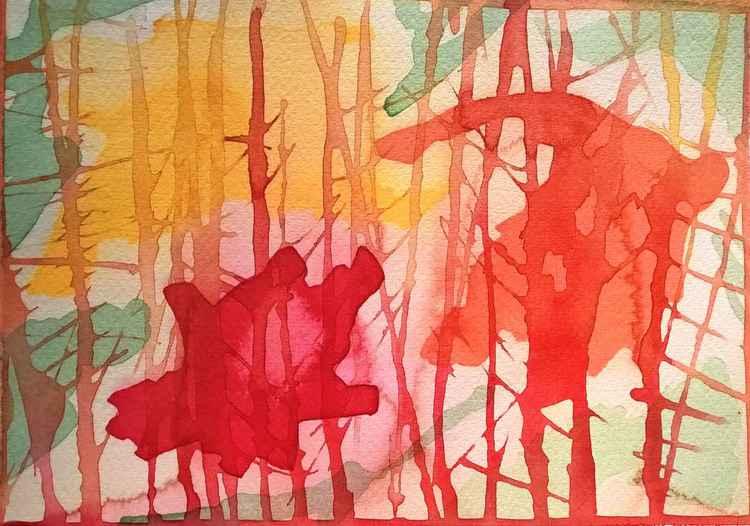 Mountain Abstract 4