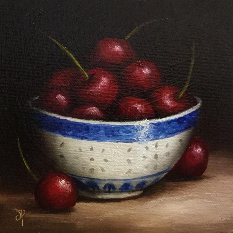Bowl of Cherries No 2 - Image 0