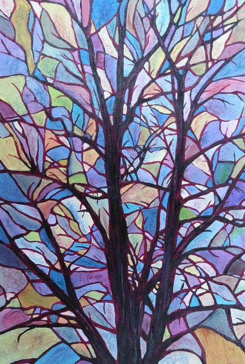 Painted Sky Tree - Image 0