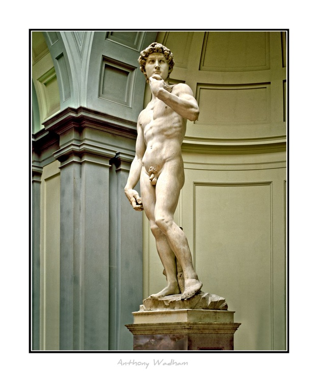 David is a masterpiece of Renaissance sculpture created between 1501 and 1504 by Michelangelo. - Image 0
