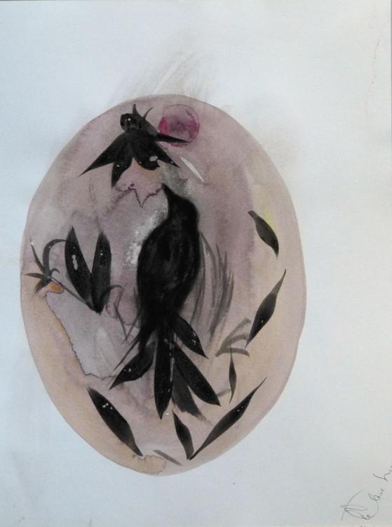 The Birds of Carros #19, 24x32 cm - Image 0