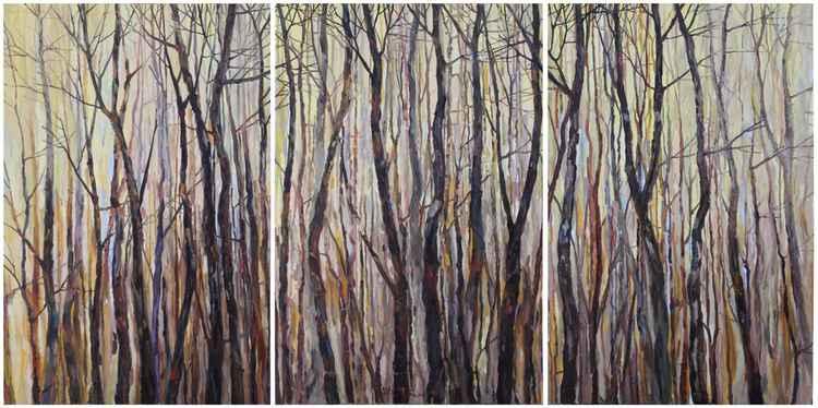 Them Trees   (150x300cm)