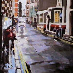 London Streets (rain) 2 by Paul Mitchell