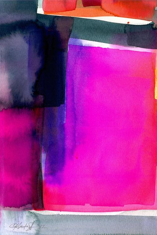 Watercolor Abstraction No. 223 - Image 0