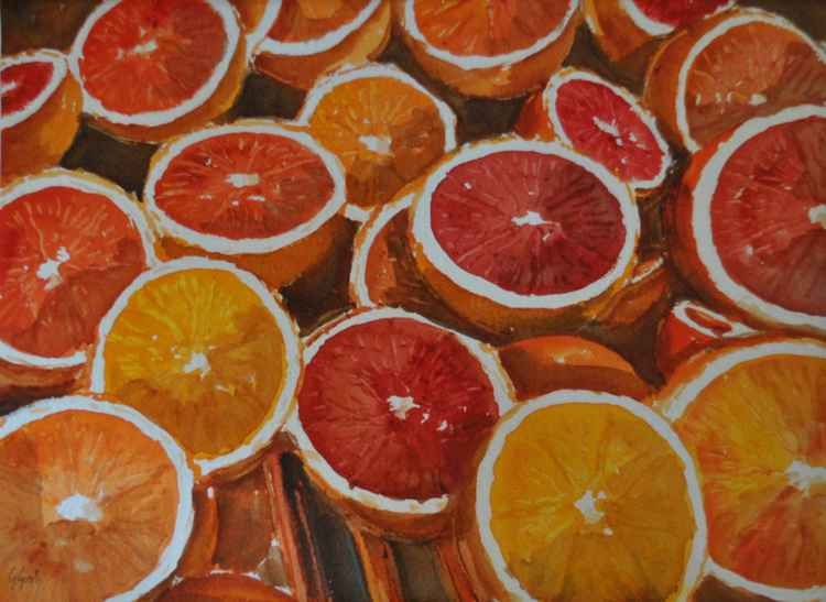 oranges -