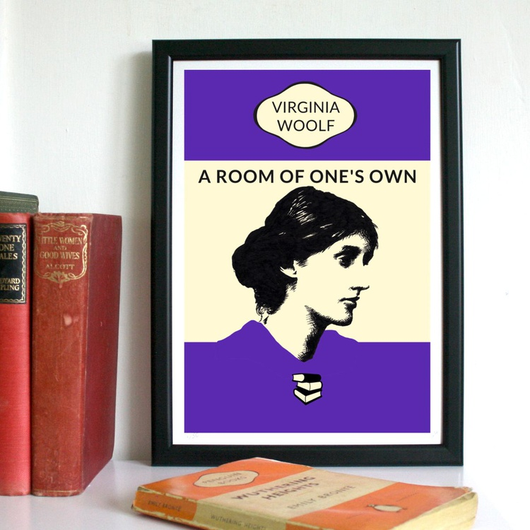 A Room of One's Own (A4, Framed) - Image 0