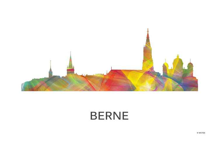 Berne, Switzerland Skyline WB1