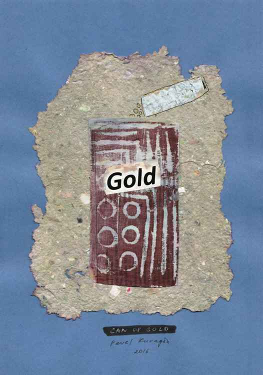 Can of gold -