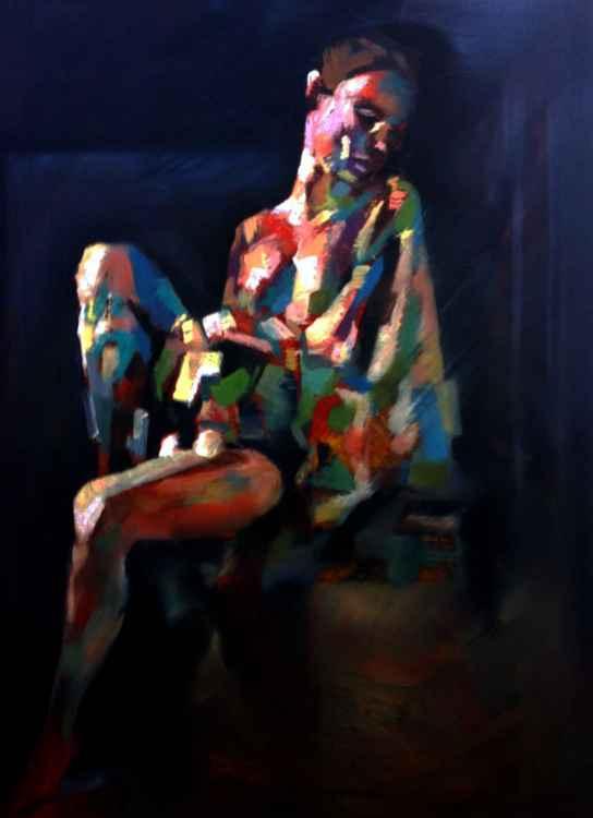 Cubist Nude -