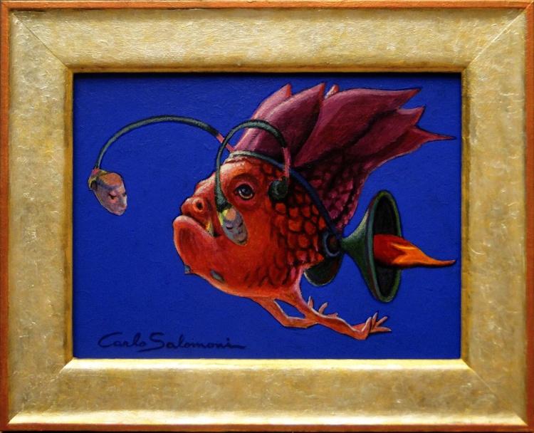 DJ FISH- (framed) - Image 0