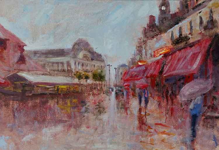 Rainy Trouville -