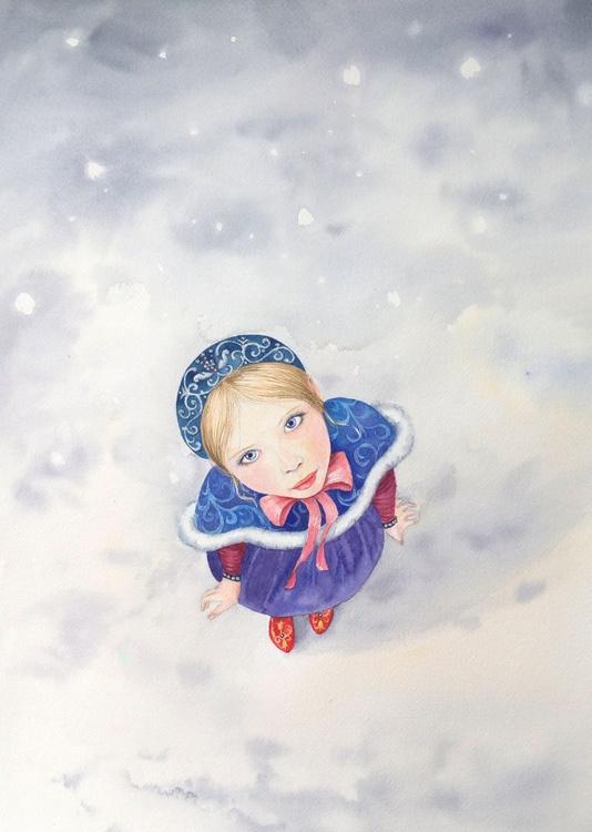 Princess Anastasia in Russian National Dress - Image 0
