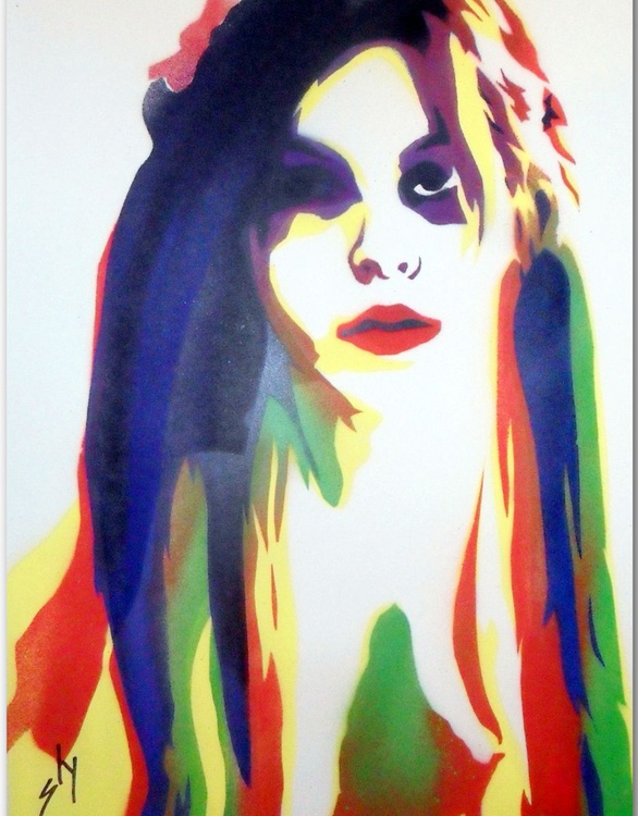 Slygirl 2  (On Paper) - Image 0