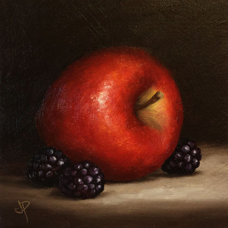 Apple with Blackberries - Image 0