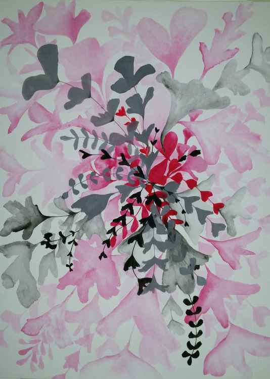 From watercolour 'Floral' series -