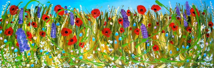 Blooming Orchestra of Poppies - Image 0