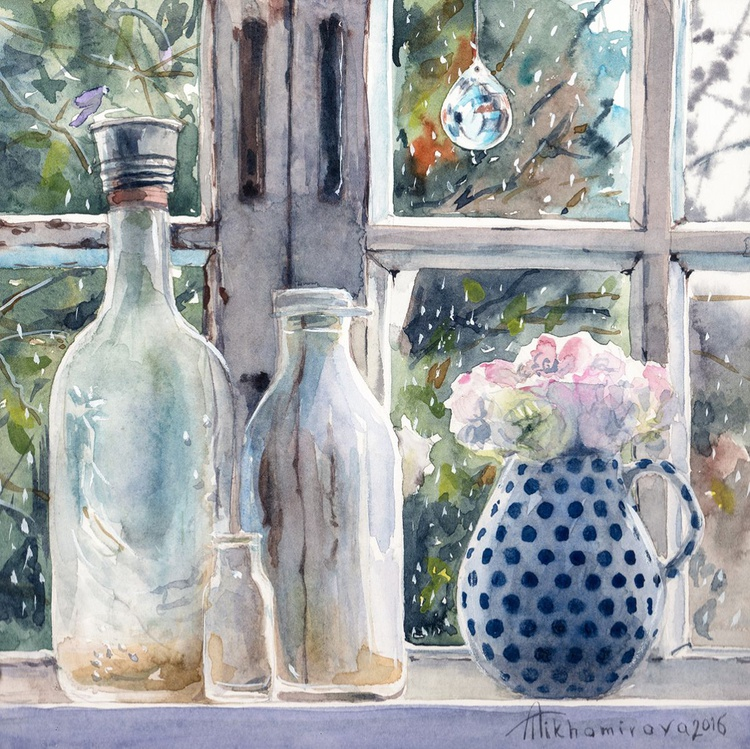 Rainy Window (Shabby Chic collection) - Image 0