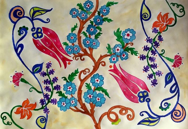 Turkish Flower Motifs - Image 0
