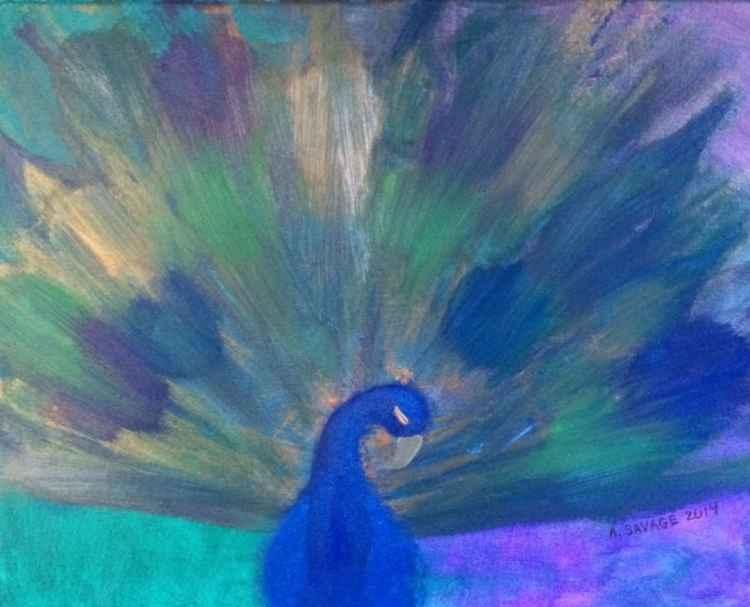Impression: Peacock