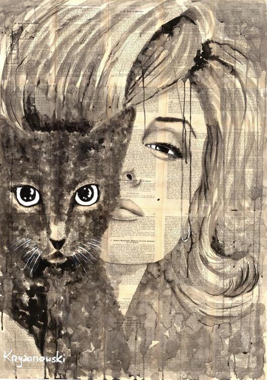 Marilyn's cat - Image 0