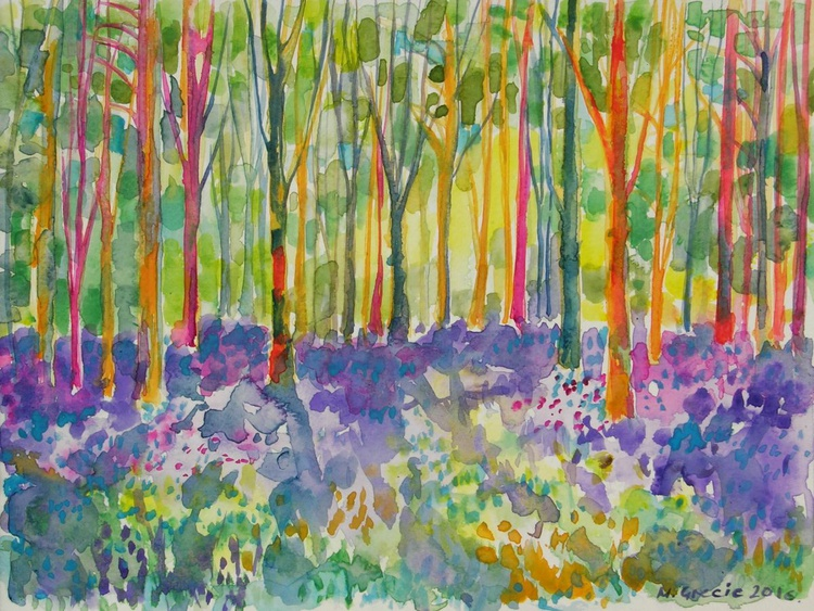 Colourful forest - Image 0