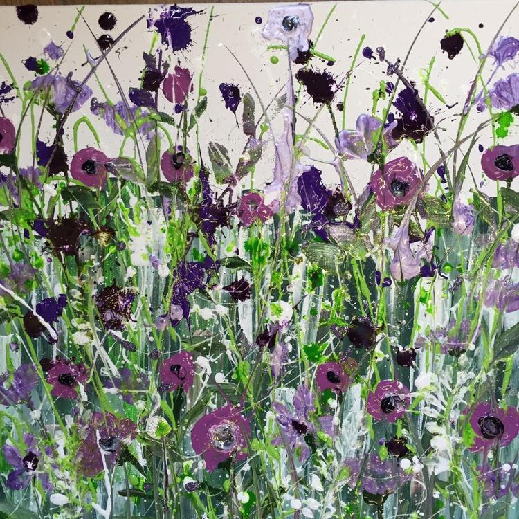 Purple poppies - Image 0