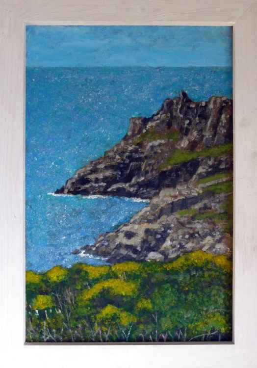 Cliffs near Zennor. -