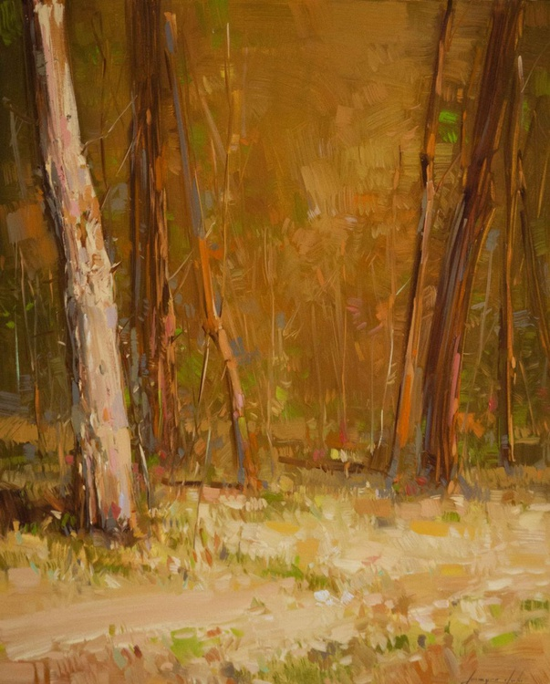 Fall Landscape oil painting - Image 0