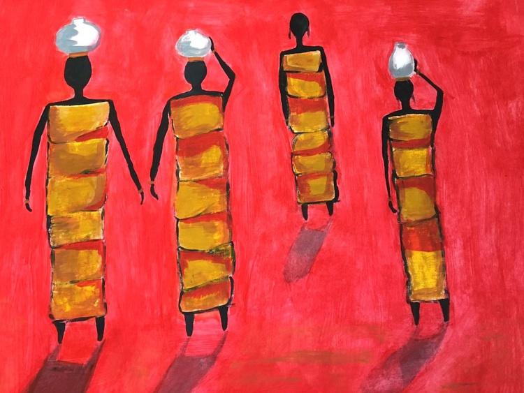 Women Abstract art - Image 0