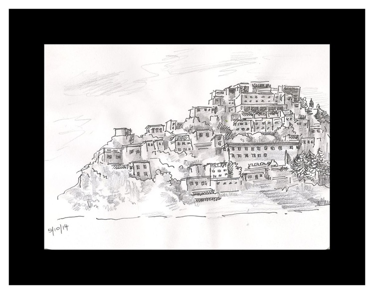 Buildings on the hills - Image 0