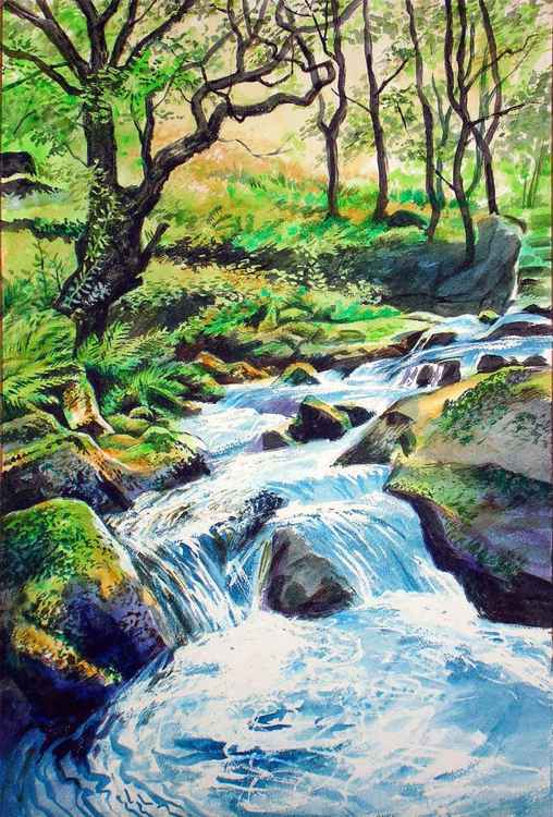 East Okement River, Dartmoor -