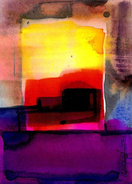 Watercolor Abstraction No. 213 - Image 0