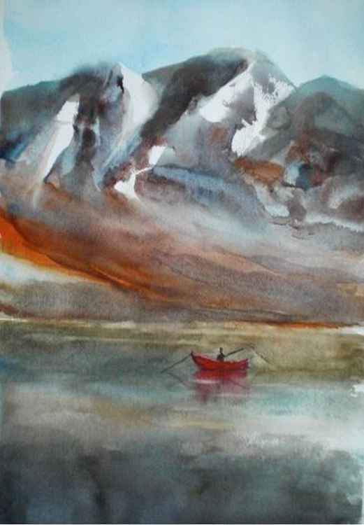 red boat -