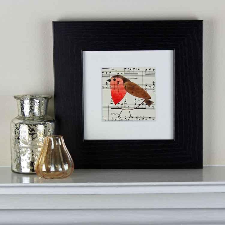 Framed Little Robin No 3