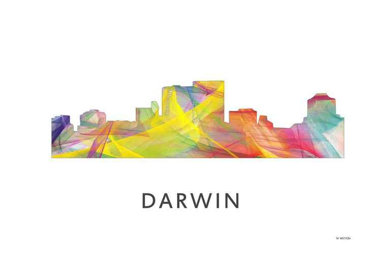 Darwin Northern Territory Australia Skyline WB1 -
